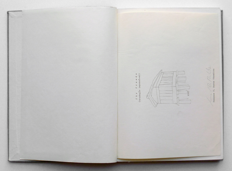 'Für Fremde', graphite and indian ink on paper, 30 x 22 cm, 170 pages, 1997