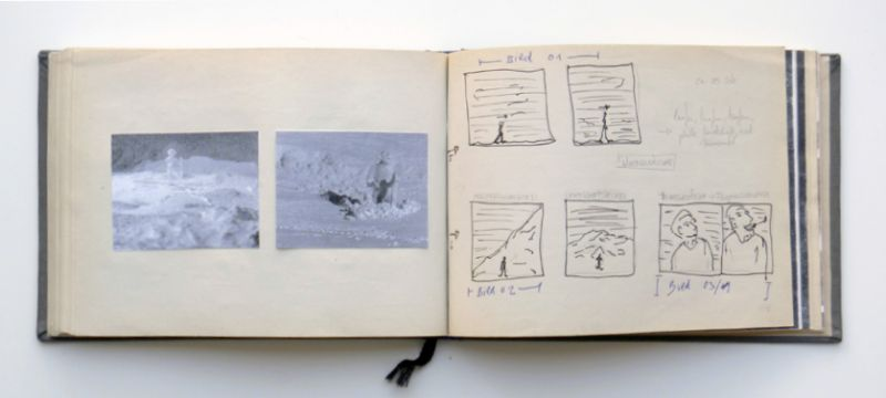 '2 Storyboards', 2004, mixed media, 21,5 x 15,5 cm, 204 pages, 1999