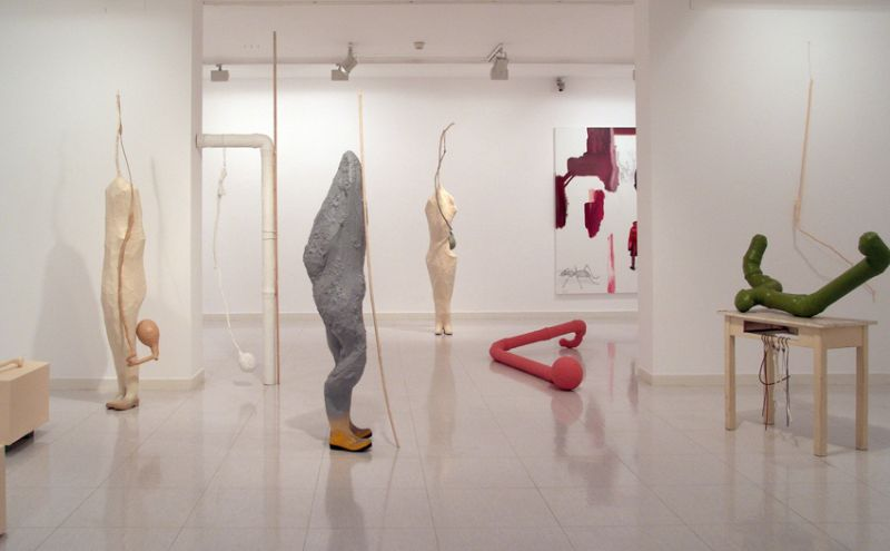 'Entre el Tiempo' ('Between the Time'), partial installation view, Museum of Modern Art, Santander (ES) 2010/2011