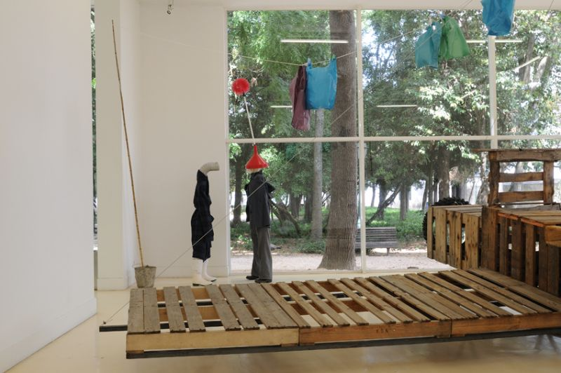 'O Estado do Sono' ('The State of Drowsiness'),  installation view Pavilhão Branco / Municipal Museum, Lisbon (PT) 2008