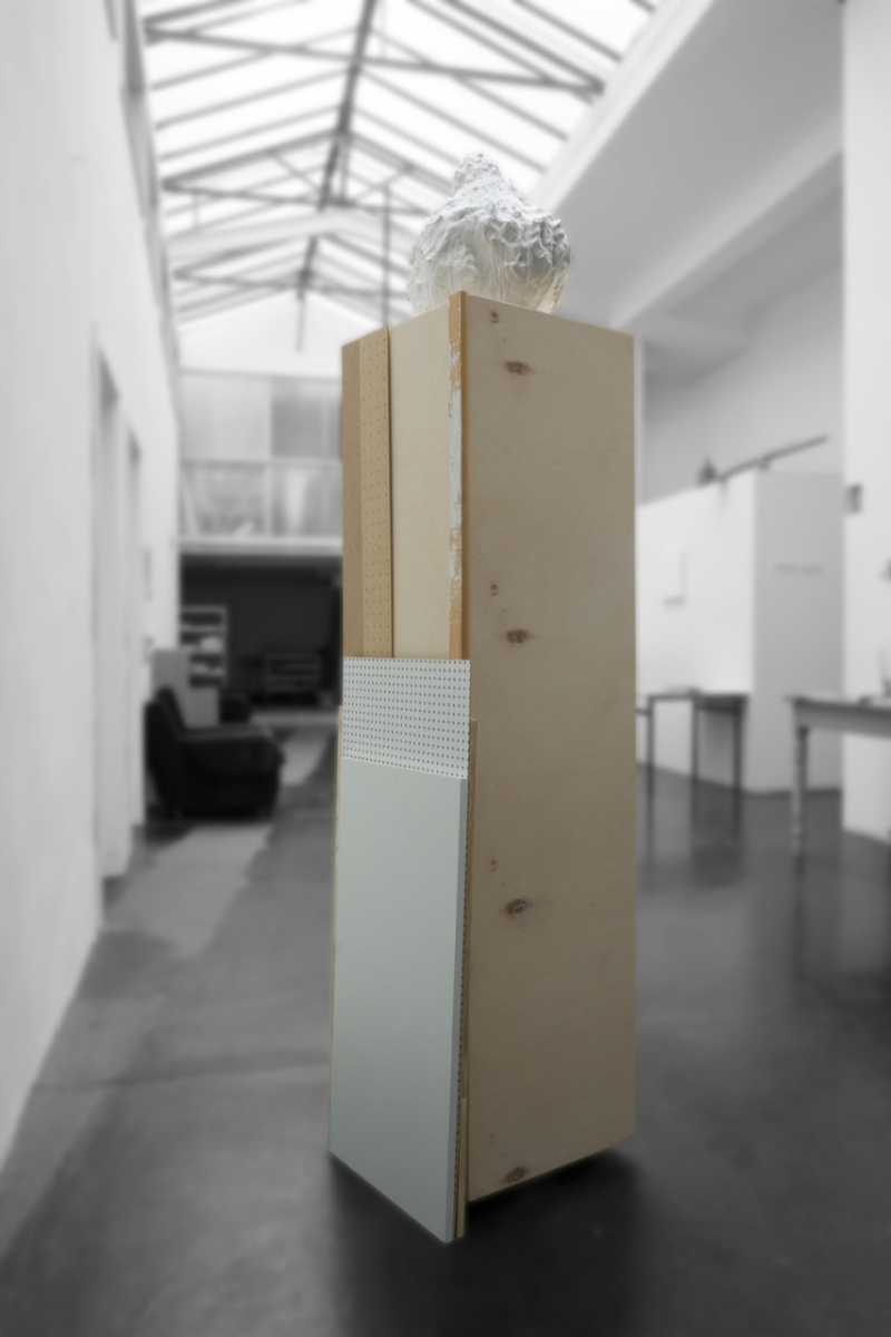 'After The Journeys In Between Mr Tabucchi's Pages (Monument)', 200 x 56 x 52 cm, 2017