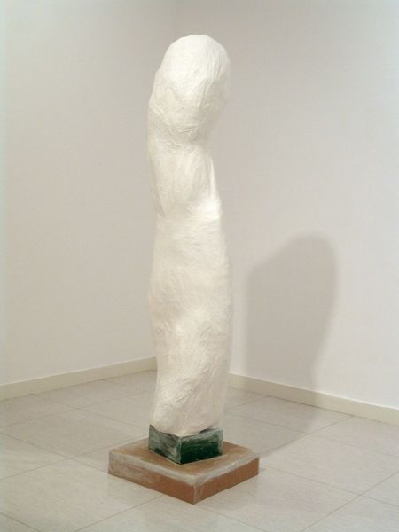 from the series 'Entre el Tiempo', synthetic resin paint on papier-mâché and mixed media, 60 x 200 x 65 cm, 2010