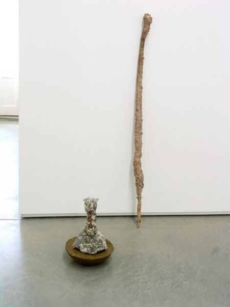 from the series 'The Vertebral and the Invertebrate', casted bronze and wax, 35 x 40 x 35 cm / 10 x 120 x 8 cm, 2007