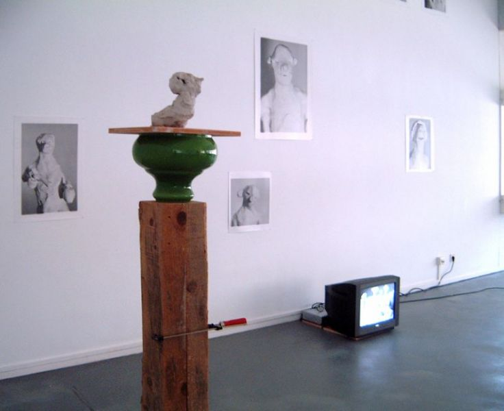 'The Good, the less Good and other Survivers', partial installation view Slowmotion, ESAD, Caldas da Rainha (PT) 1999