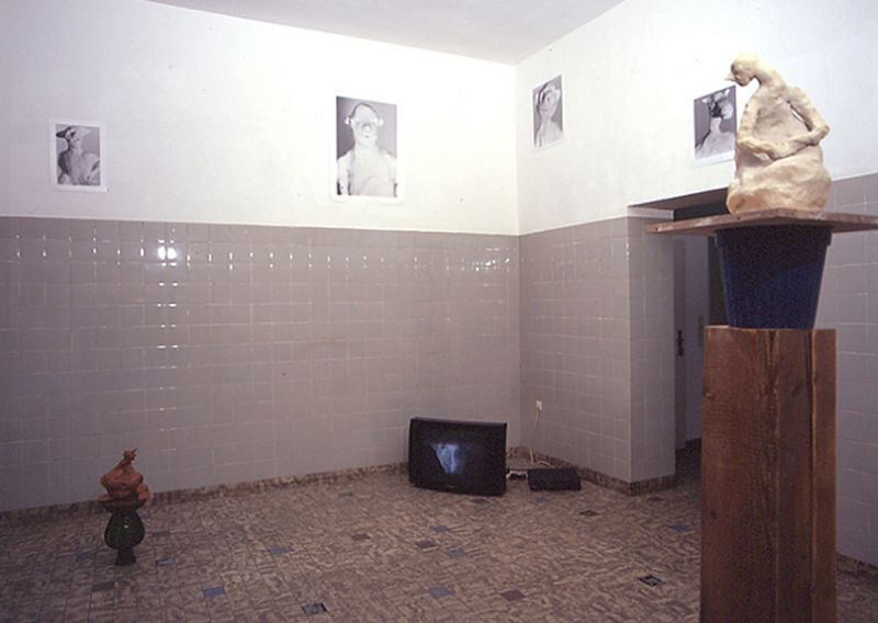 'The Good, the less Good and other Survivers', installation view Schneiderei Gallery, Cologne (D) 1999